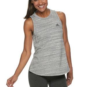 Adidas sport to street Gray tank top